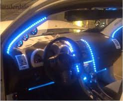 car motorcycle led light kit 8 ft with remote rgb