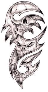 tag tribal deer skull designs best design