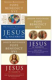 jesus of nazareth 3 volume set set ignatius press