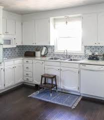 modern farmhouse kitchen cabinets white bright white kitchen makeover on a budget lovely etc