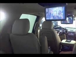 cadillac escalade dvd player adding dual overhead 10 2 drop systems to 2011