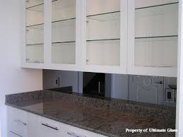 Glass Shelves Kitchen Cabinets Ultimate Glass U0026 Mirror Inc Specializing In Custom Glass Work And