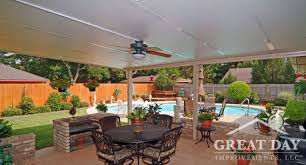 Patio Cover Designs Ideas  Pictures Great Day Improvements - Backyard patio cover designs