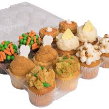 thanksgiving dinner cupcakes by cakes goldbely