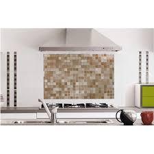 anti eclaboussure cuisine anti éclaboussure motif mosaïque protection plaques de