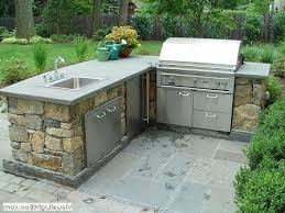 outdoor kitchen sinks ideas outdoor kitchen sink station fraufleur