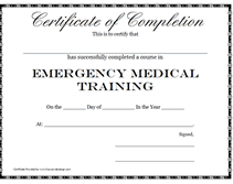 medical certification template