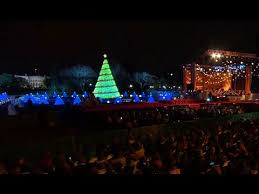 christmas tree lighting near me president obama delivers remarks at the national christmas tree