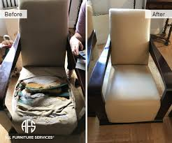 change upholstery on chair gallery before after pictures all furniture services part 4