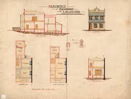 melbourne terrace house plans google search vintage