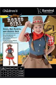 cowgirl kids fancy dress costume girls rodeo cowgirl costume