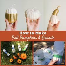 Fall Decor Diy - diy fall pumpkins and gourds a tutorial fall home decor