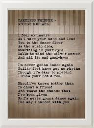 Mystery I U0027m Never Gonna by Best 25 Careless Whisper Lyrics Ideas On Pinterest Careless