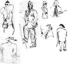 people sketches james lewis datum international
