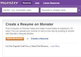 Monster Resume Builder Free Astounding Design Monster Resumes 3 Resume Job Formats Free