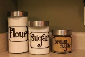 28 labels for kitchen canisters french style canister