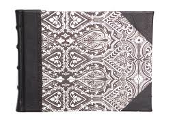 Leather Guest Book Wedding Handcrafted Leather Guest Book Signature Book Ideal For