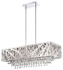 Black Chandelier Ls This Contemporary Rectangular Chandelier Features A Spectacular