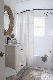 Small Shower Curtain Rod Best 25 Farmhouse Shower Curtain Ideas On Farmhouse In
