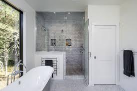 black and white decor theme for shower room 15115 bathroom ideas
