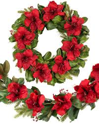 unlit wreaths garlands foliage balsam hill