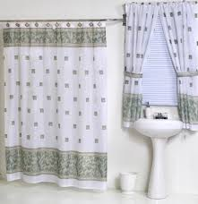 Matching Bathroom Window And Shower Curtains 30 Best Shower Curtains Matching Window Treatments Pair