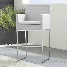 out door bar stools outdoor bar stools crate and barrel