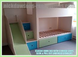 Bespoke Bunk Beds Childrens Storage Beds Bespoke Pic Of Bunk With A Slide