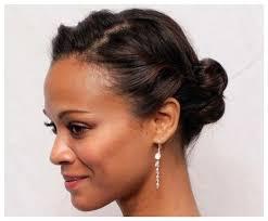 cute updos for short hair african american hair pinterest