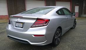 2014 honda civic coupe the sporty looking coupe for sedan lovers