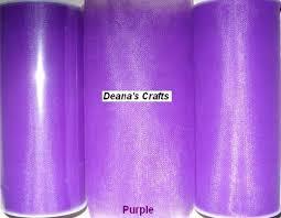 purple tulle purple tulle fabric spool roll 6 x 25 yards tutu wedding bows