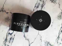 black label hair black label grooming shape paste style by kieren