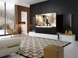 living built ins woven chairs in entertainment unit media room