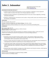 Scientific Resume Examples by Entry Level Research Scientist Resume Sample Creative Resume