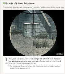 Quickscope Meme - quickscoping know your meme