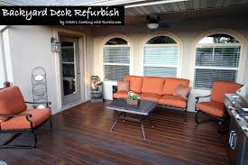 deck refurbish
