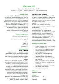 sample resume for hotel jobs hospitality templates sample resume