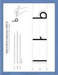 mts learning the alphabet level1 letter b workbook color