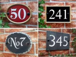 house signs house name number plaques by yoursigns ltd
