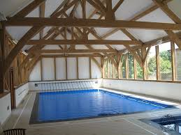 build pool house large oak timber framed swimming pool house