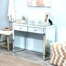 glass top vanity table glass top makeup vanity desk table medium holhy com