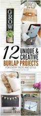 Burlap Home Decor Ideas Burlap Craft Projects 12 Creative Ideas For All Styles