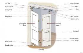 Installing A Closet Door Exquisite Dsc095876 Closet How To Install Bifold Doors Bi Fold