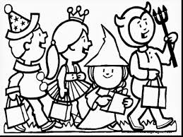 excellent halloween coloring pages happy halloween coloring