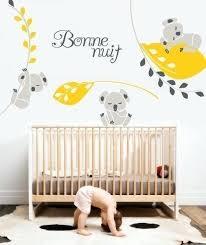 stickers chambre bébé fille pas cher stickers pour chambre bebe les plus beaux stickers muraux pour la