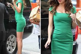 miranda kerr goes green with mini dress in new york mirror online