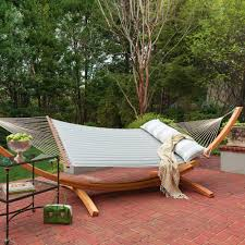 deluxe roman arc cypress hammock stand on sale sar and hatteras