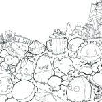 remarkable appealing plants vs zombies printable coloring pages