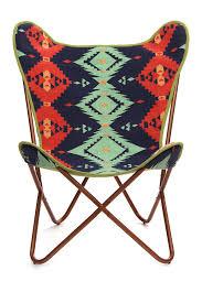 hautelook home decor geometric americano butterfly chair by karma living on hautelook