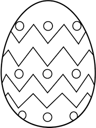 easter egg coloring pages 7497 mosaic egg coloring page in